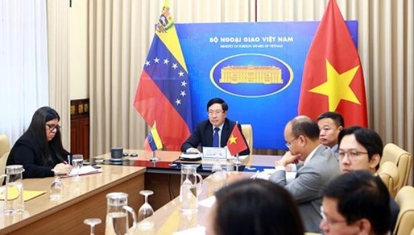 Việt Nam - Venezuela tăng cường quan hệ Đối tác toàn diện