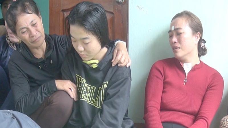 Một gia đình tại miền Trung khi nhận tin con mình đi xuất khẩu lao động và mất tích tại Hàn Quốc.