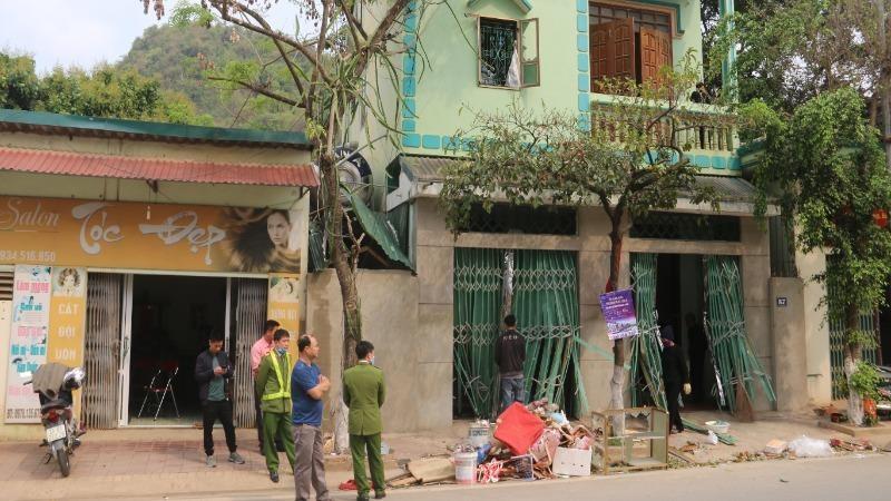 Nổ khí gas làm 1 phụ nữ ở Sơn La nhập viện cấp cứu