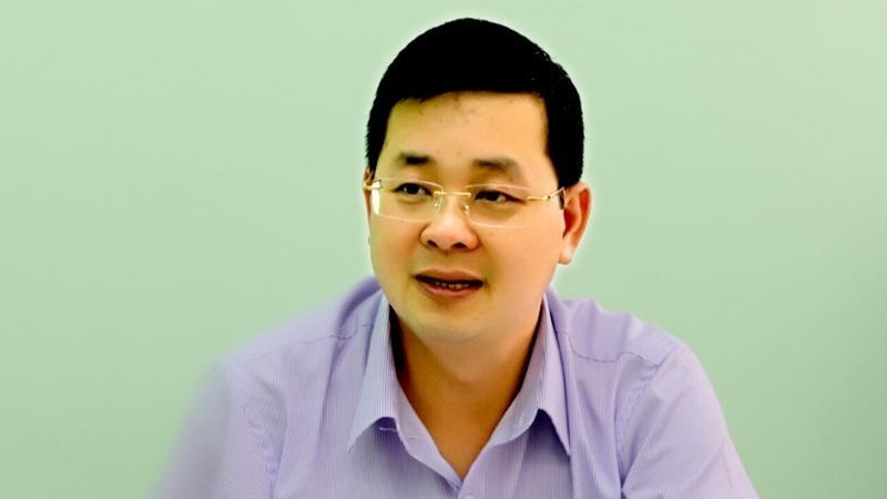 Giám đốc Sở TN&MT TP Nguyễn Toàn Thắng. (Ảnh: VGP/Mạnh Hùng)