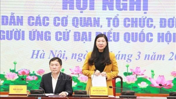 Hà Nội dự kiến giới thiệu 59 người tham gia ứng cử