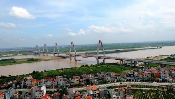 Hà Nội đang hoàn thiện quy hoạch phân khu sông Hồng. Ảnh minh họa.