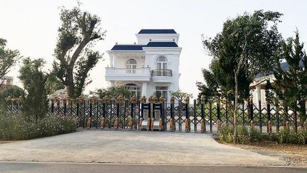 Căn biệt thự khủng không phép trên đường Lý Thường Kiệt, TP Bảo Lộc.