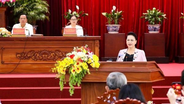 Chủ tịch Quốc hội Nguyễn Thị Kim Ngân: Ngoài cơ chế đặc thù, Cần Thơ cũng cần tự khắc phục vươn lên
