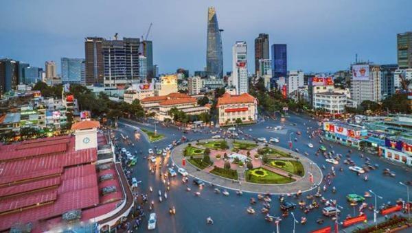 Một góc TP Hồ Chí Minh.
