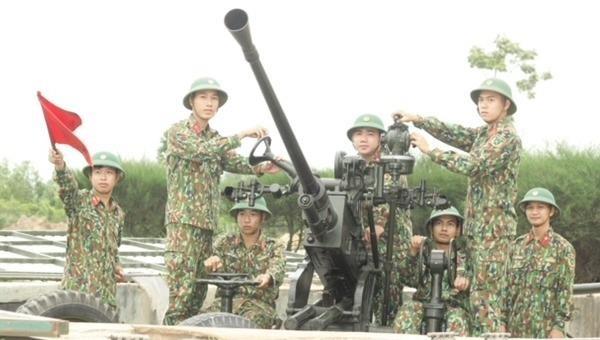 Đại đội Phòng không 594 sẵn sàng chiến đấu bảo vệ vùng trời Thừa Thiên Huế.