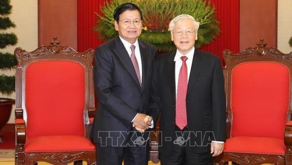Củng cố, thắt chặt quan hệ Việt - Lào