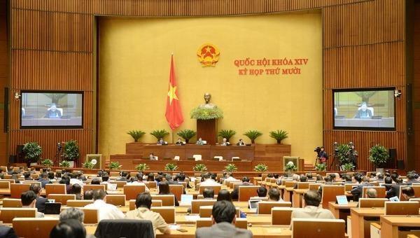 Kỳ họp thứ 11, Quốc hội khóa XIV.