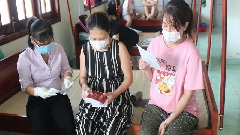 Nhiều thai phụ khỏe mạnh, hoàn thành cách ly tại Tiền Giang
