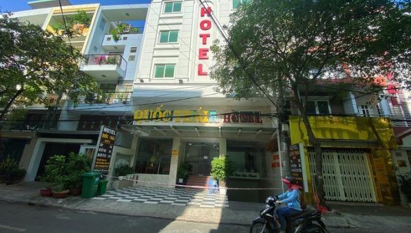 Một khách sạn ở Bình Chánh, TP HCM bị phong tỏa sau khi phát hiện trường hợp nhập cảnh trái phép nhiễm Covid-19.