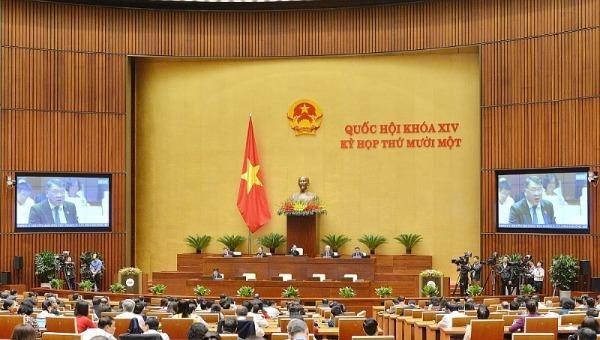 Quốc hội thảo luận ở hội trường về các Báo cáo công tác nhiệm kỳ 2016-2021 của Tòa án nhân dân Tối cao, Viện Kiểm sát nhân dân tối cao.