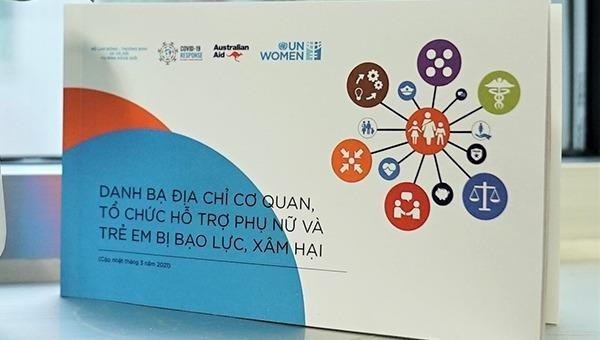 Công bố Danh bạ địa chỉ hỗ trợ phụ nữ và trẻ em bị bạo lực