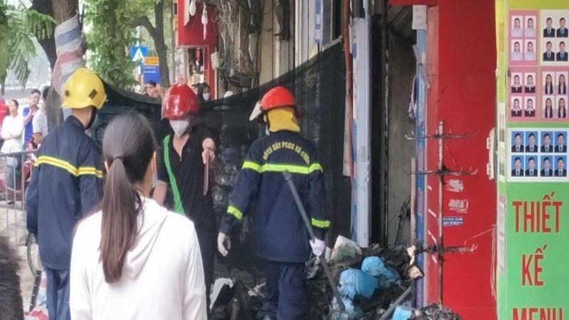 Danh tính 4 nạn nhân trong vụ cháy cửa hàng bán đồ sơ sinh lúc nửa đêm