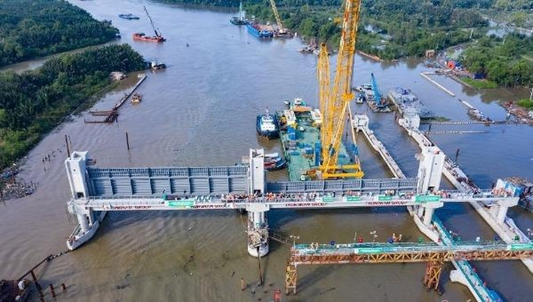 Dự án chống ngập 10.000 tỷ đồng ở TP HCM.