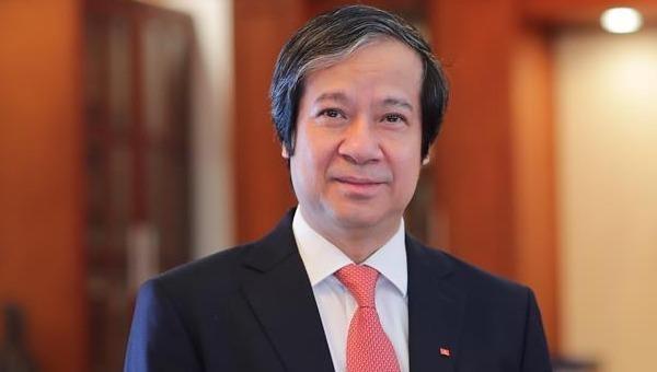 Tân Bộ trưởng Bộ Giáo dục và Đào tạo Nguyễn Kim Sơn.