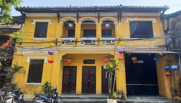 Ngôi nhà số 75 Nguyễn Thái Học,TP Hội An.