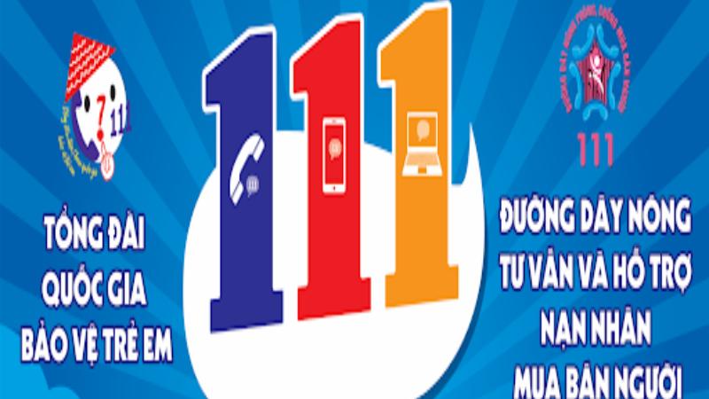 Tổng đài bảo vệ trẻ em 111 tiếp nhận hàng chục nghìn cuộc gọi
