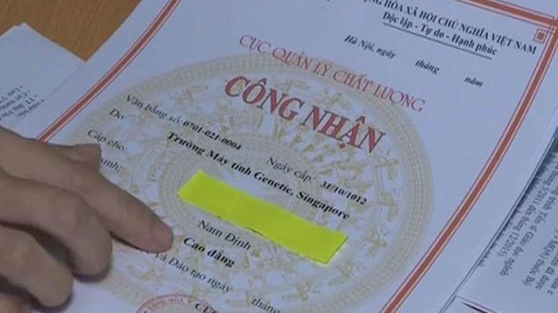 Thủ tục công nhận văn bằng trường nước ngoài cấp để sử dụng tại Việt Nam