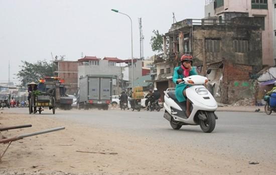 Tuyến Ô Đông Mác - Nguyễn Khoái có dự toán khoảng 1,7 tỷ đồng/1m. (Ảnh: Q.M)