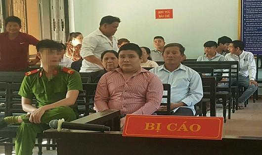 Bị cáo Dương Vũ Ngọc Linh tại phiên tòa sơ thẩm