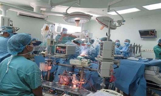 Ca ghép tim được thực hiện tại bệnh viện Trung ương Huế