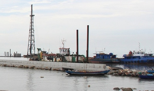 Dự án Bến số 3 Cảng Chân Mây (huyện Phú Lộc) do Công ty TNHH Hào Hưng Huế làm chủ đầu đầu tư