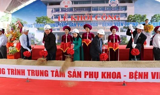 Bệnh viện Trung ương Huế khởi công xây dựng Trung tâm Sản phụ khoa