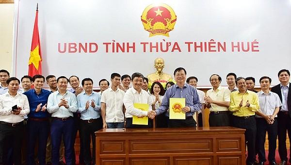 Ký kết văn bản thỏa thuận bảo tồn và phát huy giá trị Hải Vân Quan