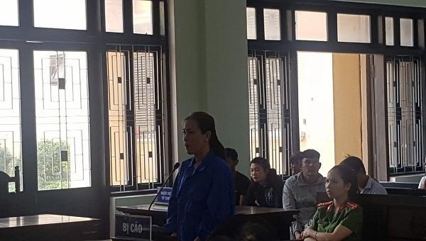 Bị cáo Nguyễn Thị Băng Tâm tại phiên tòa xét xử