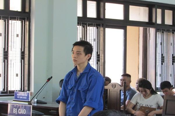 Bị cáo Đào Duy Chuẩn tại phiên tòa