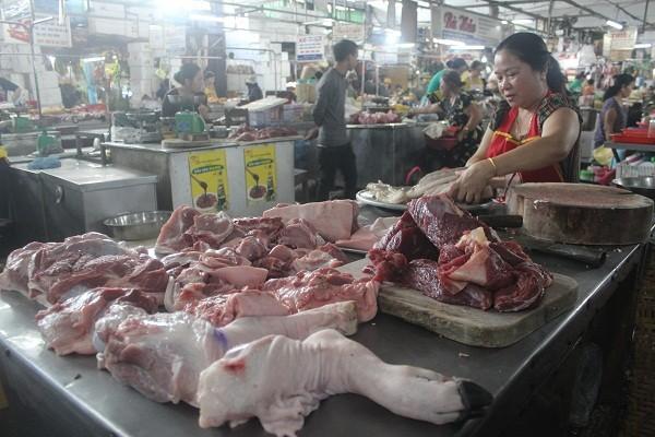 Thừa Thiên-Huế: Thiếu 25% nguồn thịt lợn cung ứng cho thị trường vào dịp tết