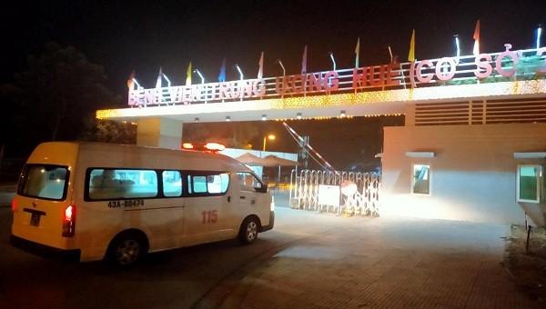 Bệnh viện Trung ương Huế tiếp nhận bệnh nhân 418 từ Bệnh viện Đa khoa Đà Nẵng chuyển ra