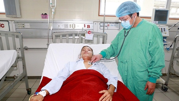 Bệnh Whitmore gia tăng cao trong mùa lũ tại các tỉnh miền Trung