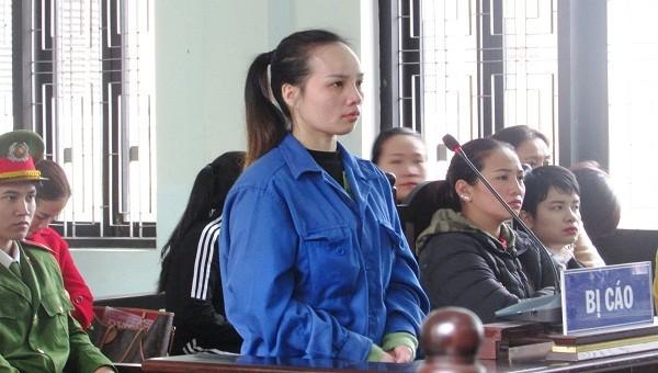 Trần Thị Như Ý tại phiên tòa xét xử