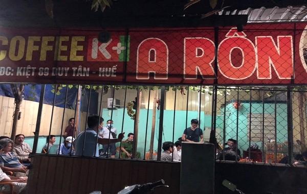 Triệt phá đường dây cá độ bóng đá nhiều tỷ đồng núp bóng quán cà phê tại Thừa Thiên Huế