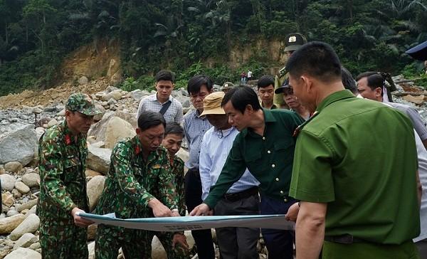 Mở lại cuộc tìm kiếm các công nhân mất tích tại thủy điện Rào Trăng 3 vào tuần sau