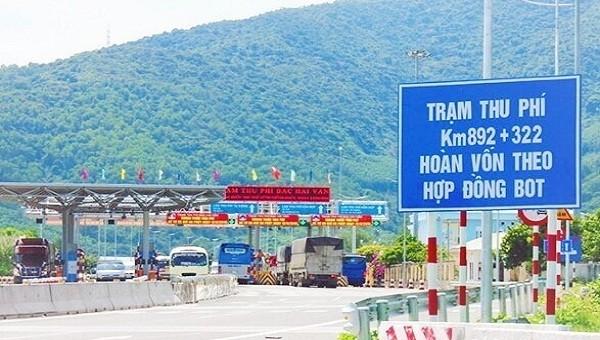 Điều chỉnh mức thu phí dịch vụ tại trạm Bắc Hải Vân