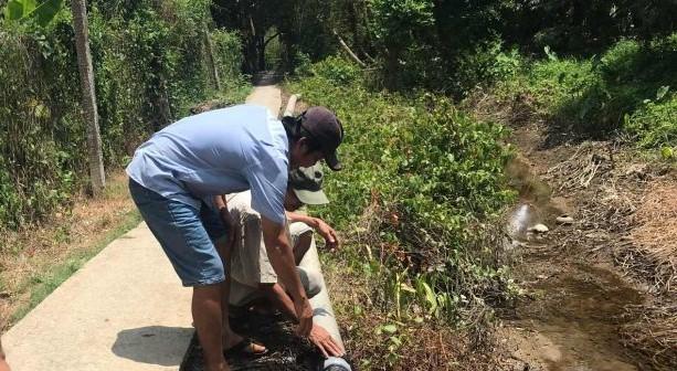 Tạm giữ đối tượng 'vòi tiền bảo kê' bơm nước ở Tiền Giang
