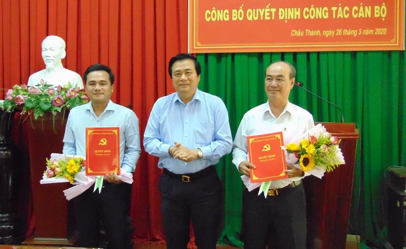 Huyện Châu Thành (Long An) có tân Bí thư Huyện ủy