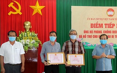 Sở Y tế Đồng Tháp được tặng 500 bộ kít xét nghiệm SARS-CoV-2