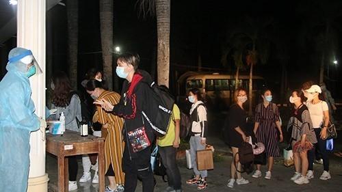 Đồng Tháp tiếp nhận cách ly 116 công dân trở về từ Philippinnes
