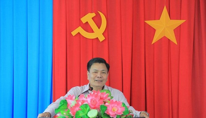 Phó chủ tịch UBND tỉnh Nguyễn Hữu Lập phát biểu chỉ đạo.