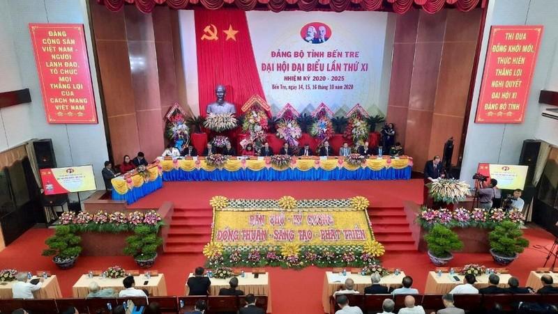Đại hội đại biểu Đảng bộ tỉnh Bến Tre lần thứ XI, nhiệm kỳ 2020 – 2025.