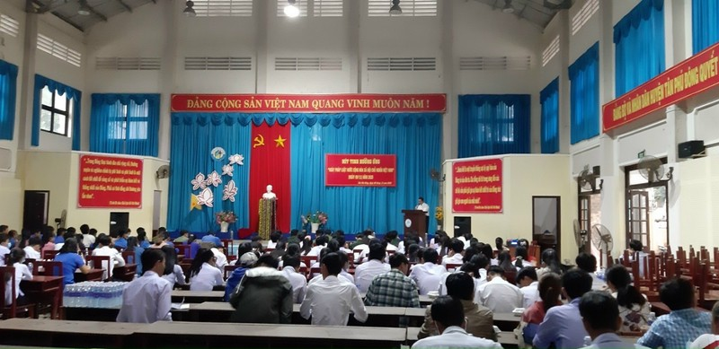 Tiền Giang: Nhiều hoạt động ý nghĩa hưởng ứng ngày Pháp luật Việt Nam