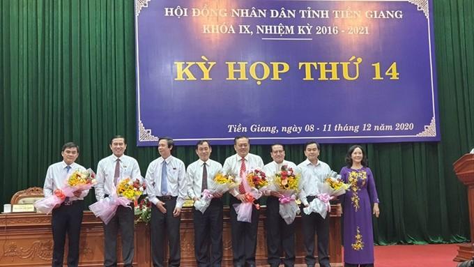 Đồng chí Nguyễn Văn Vĩnh đắc cử chức vụ Chủ tịch UBND tỉnh Tiền Giang