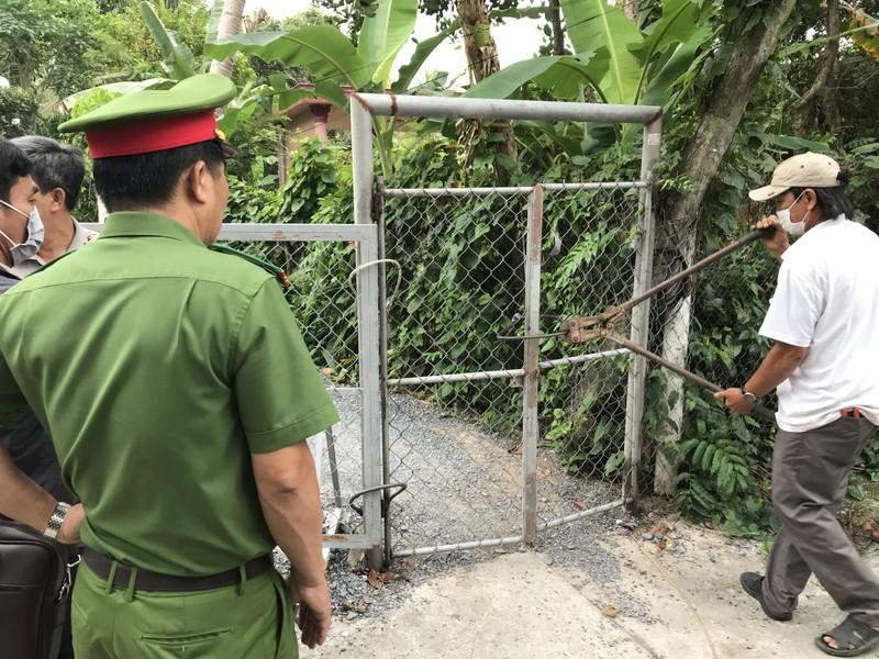 Tổ chức cưỡng chế thi hành án tại huyện Châu Thành, Tiền Giang