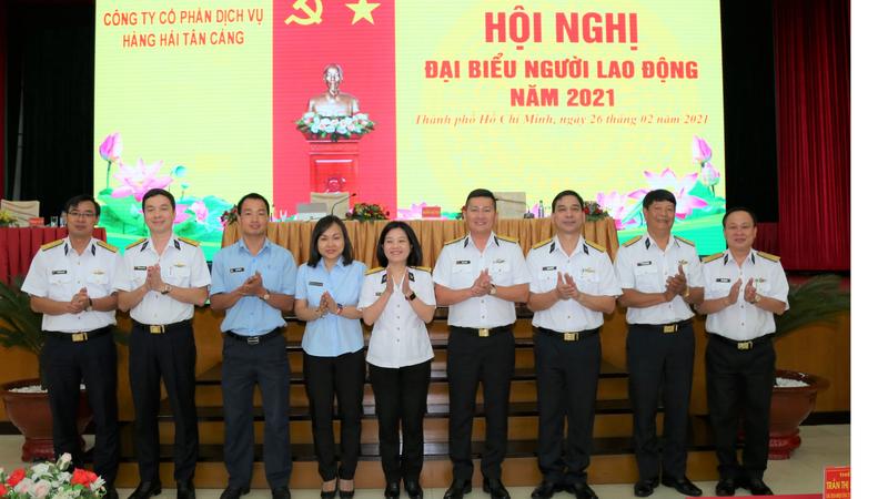 Nâng cao uy tín, chất lượng dịch vụ hàng hải Tân Cảng năm 2021
