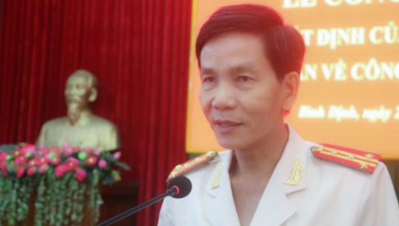 Đại tá Võ Đức Nguyện. Ảnh: Công an Bình Định.