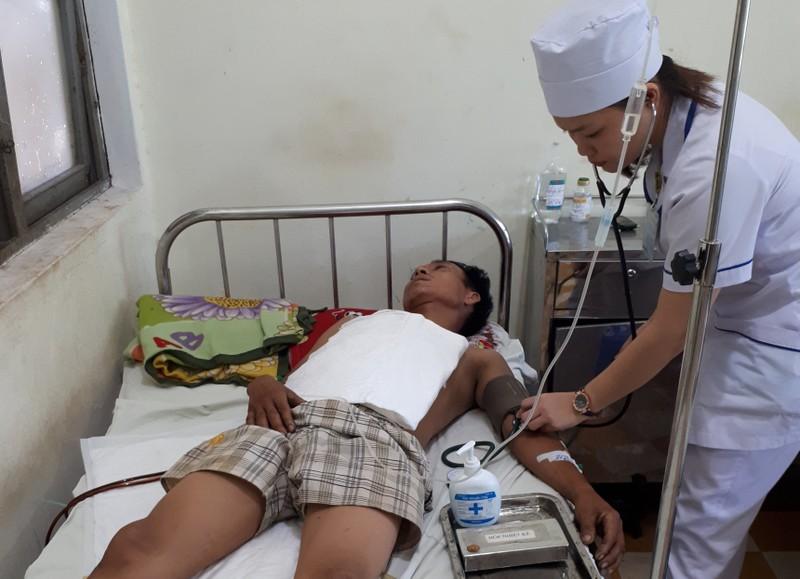 Cấp cứu thành công 2 bệnh nhân bị vỡ gan