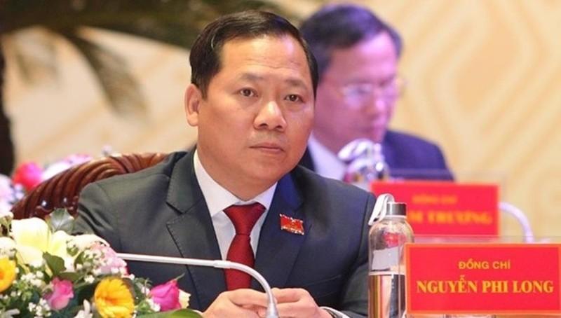 Chủ tịch UBND tỉnh Bình Định Nguyễn Phi Long.
